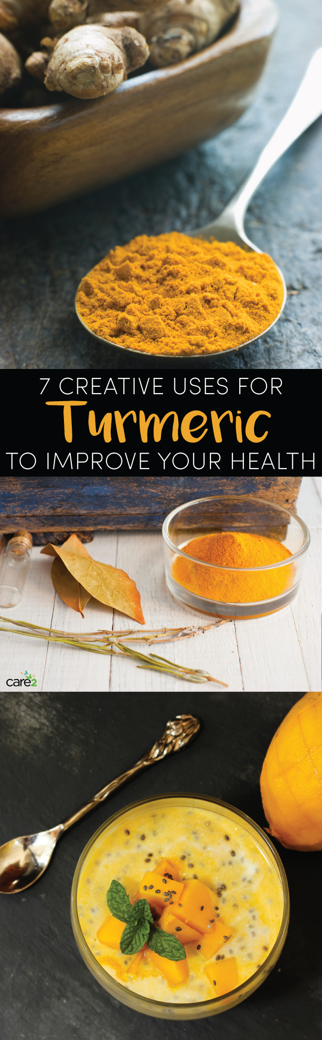 7 Creative Uses for Turmeric to Improve Your Health