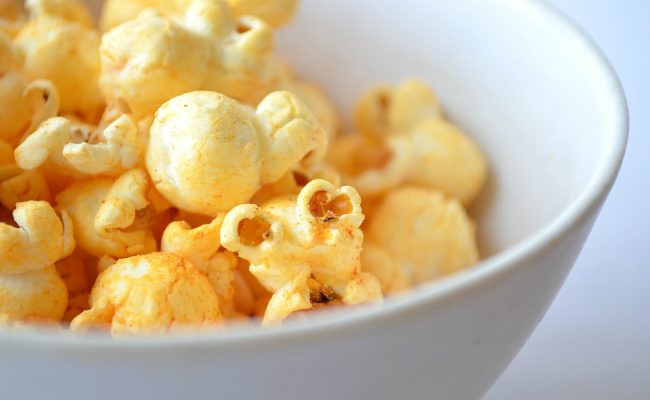popcorn and turmeric recipe