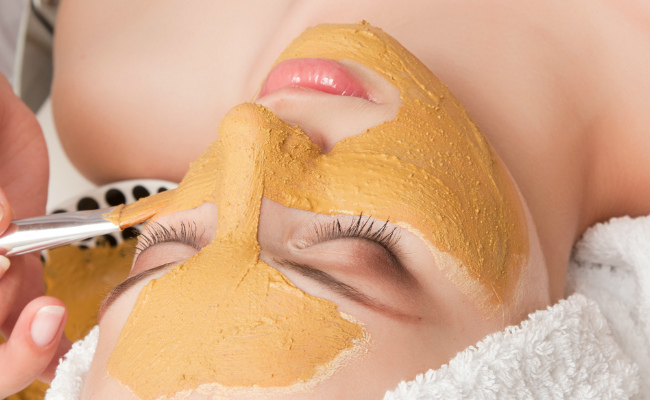 turmeric facial mask
