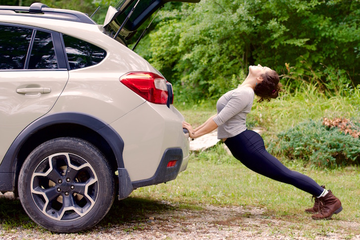 Essential Stretches for Long Car Rides