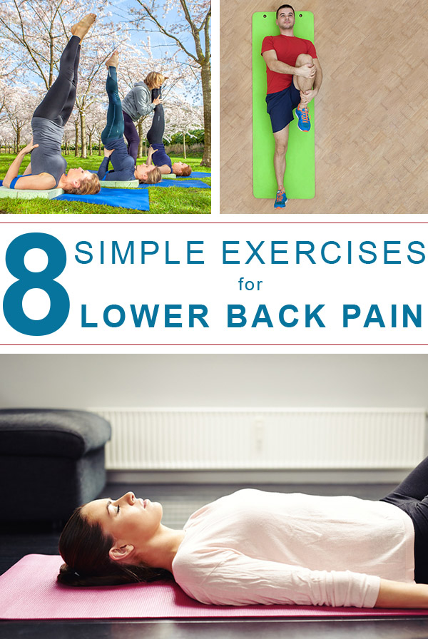 Your lower back works hard, and we don't always give it the care it deserves. Here are reasons your lower back may be hurting and simple exercises to help!