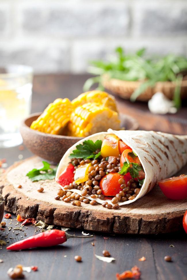 vegan burrito recipes