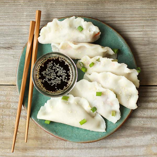 Vegan Dumplings from Feasting on Fruit