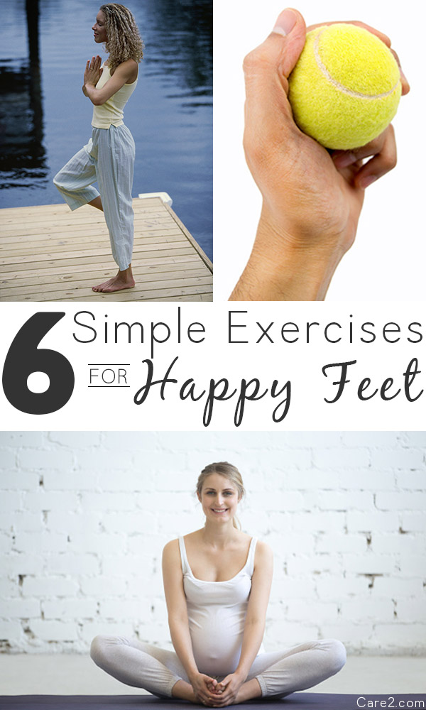 6 Simple Exercises for Happy Feet