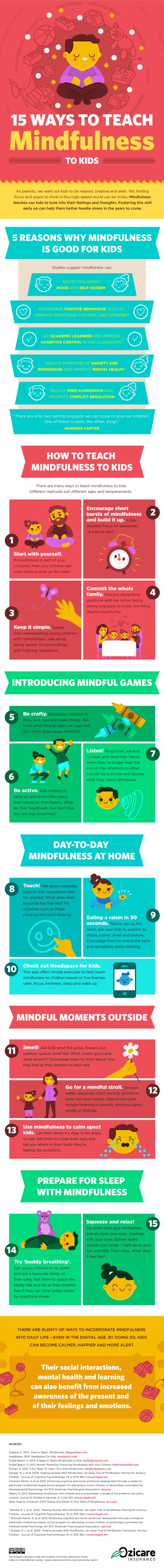 15 Ways to Teach Mindfulness to Kids