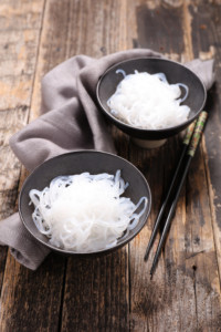 Shirataki noodles to lower blood sugars in diabetics