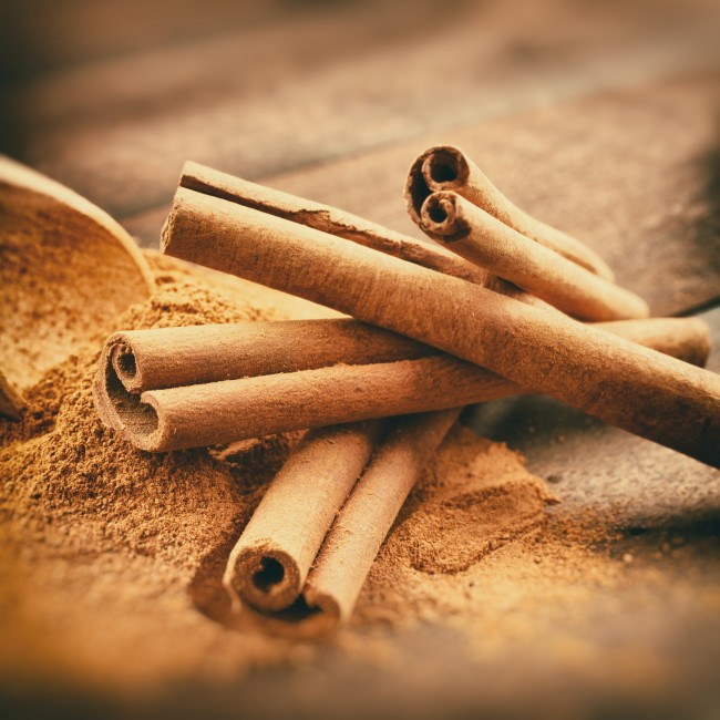 Ceylon cinnamon may help regulate glucose levels.