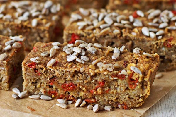 Superfood Breakfast Bars from Contentedness Cooking