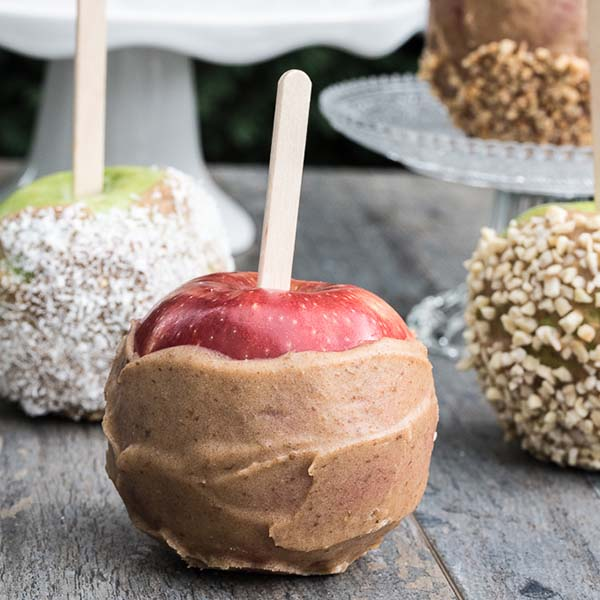 Caramel Apples from Vegan Family Recipes