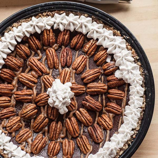 Chocolate Caramel Pecan Pie from Vegan FamilyRecipes