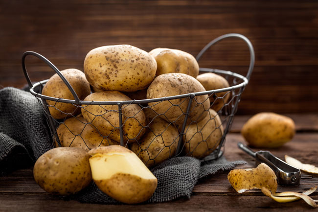 A basket of potatoes - Care2