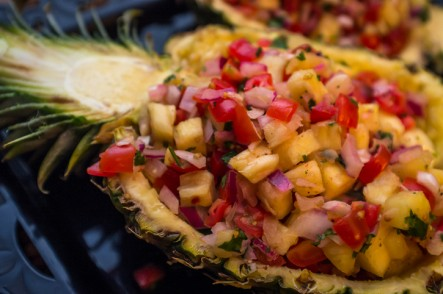 Fancy Pineapple Salsa