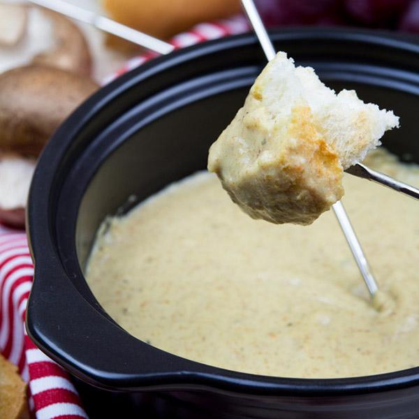 Cheese Fondue from Vegan Heaven