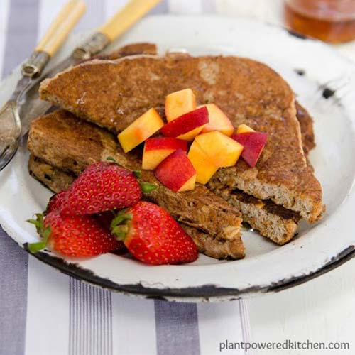 Cinnamon French Toast from Plant Powered Kitchen