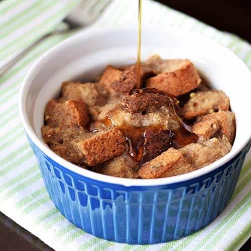 Mini Vegan French Toast Casseroles from Go Dairy Free