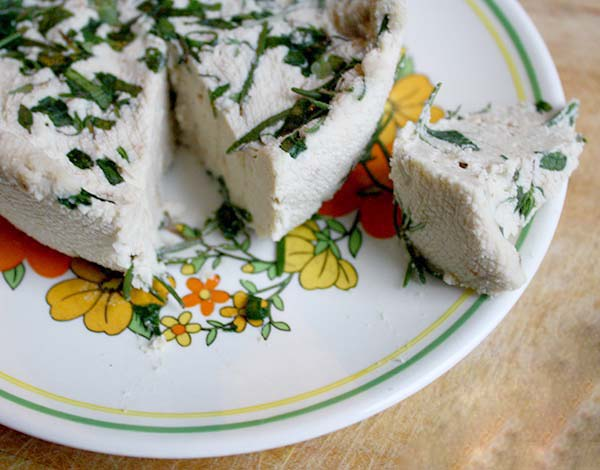 Roasted Garlic and Herb Cream Cheese from Crave Eat Heal
