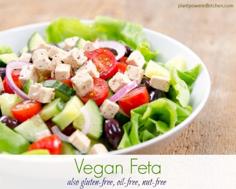 Tofu Feta from Plant Powered Kitchen