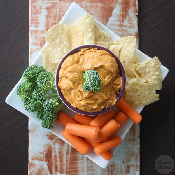 Vegan Queso from Glue and Glitter