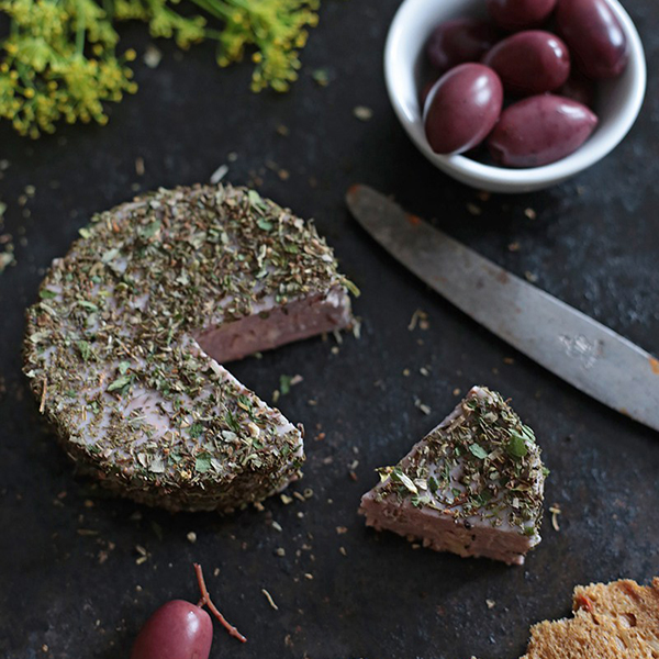 Walnut and Black Pepper Cheese from Green Evi