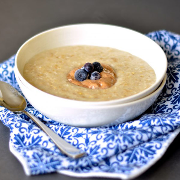 Almond Coconut Oatmeal from A Virtual Vegan
