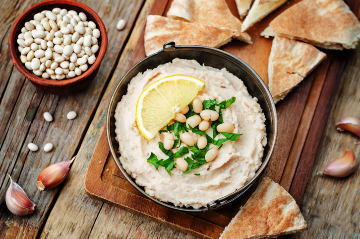 Hummus for Make-Ahead Lunches