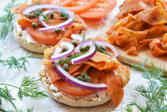 Carrot Lox Recipe from The Colorful Kitchen - Care2