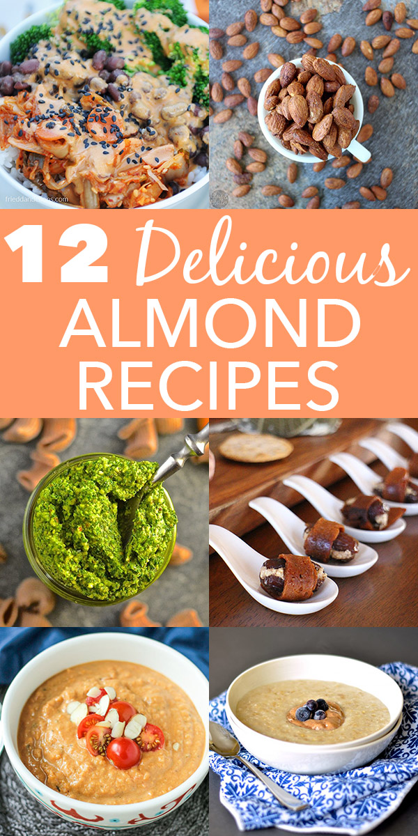 Try these plant-based recipes, and sneak some healthy almonds into your day.