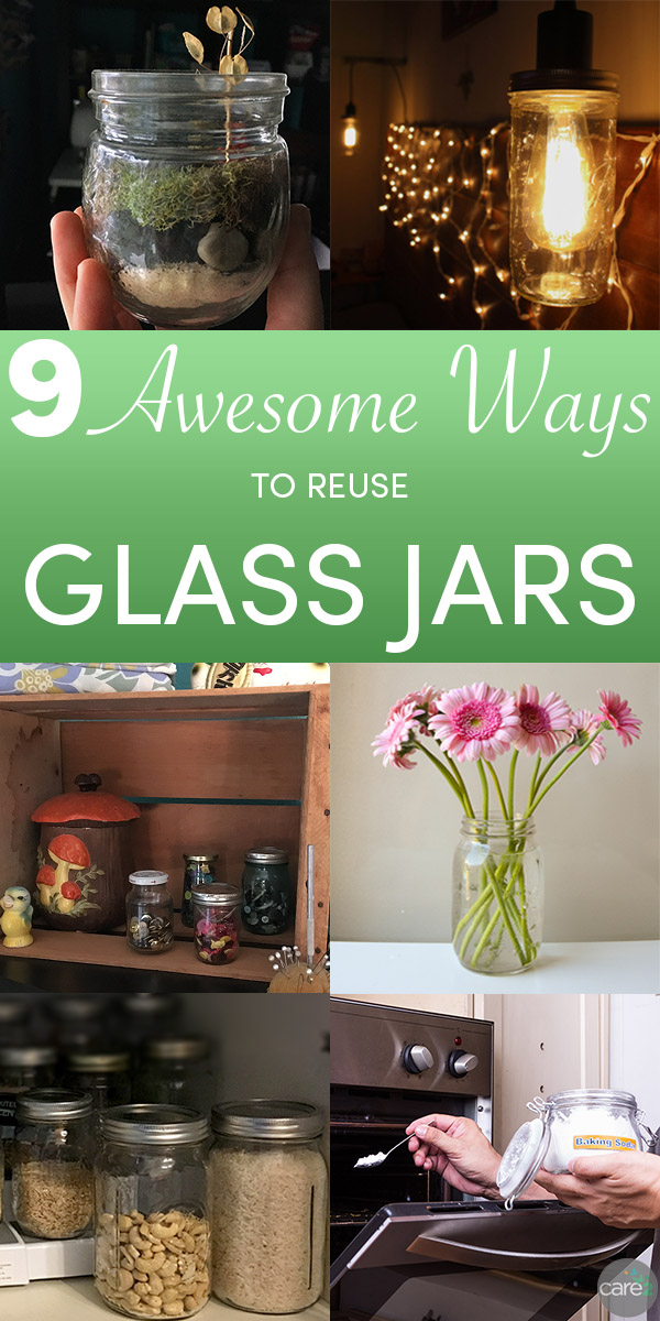 Step away from the recycle bin and try some of these handy uses for glass  jars