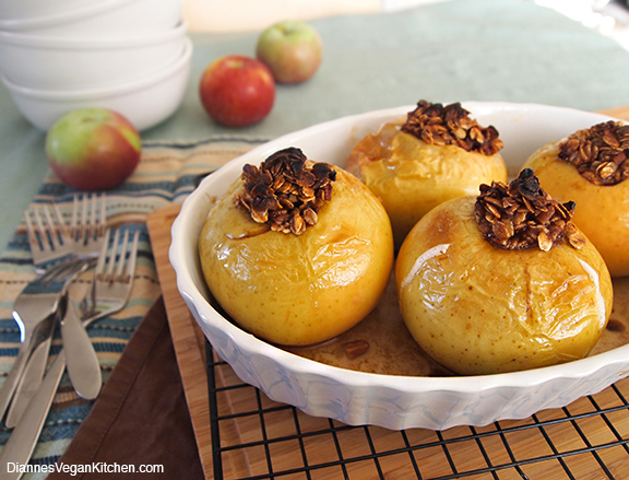 Baked Apples from Dianne's Vegan Kitchen