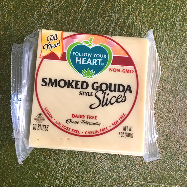 Follow Your Heart Gouda Slices are a great everyday vegan cheese option.