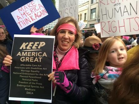 Lisa women's march