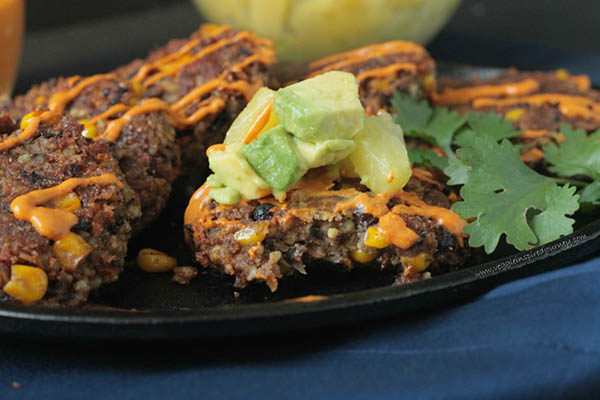 Millet Black Bean Patties from Veggie Inspired Journey