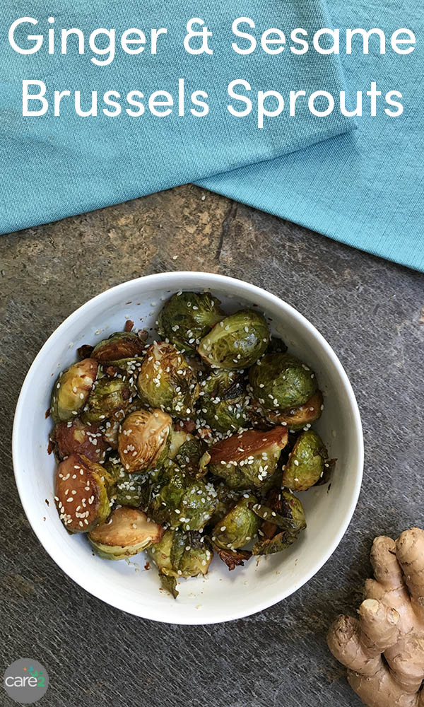 Rich, toasted sesame oil is the secret to these flavorful, roasted Brussels sprouts.