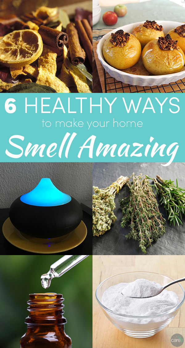 Scented candles do make the house smell great, but at what cost? Try these healthy room deodorizers instead!