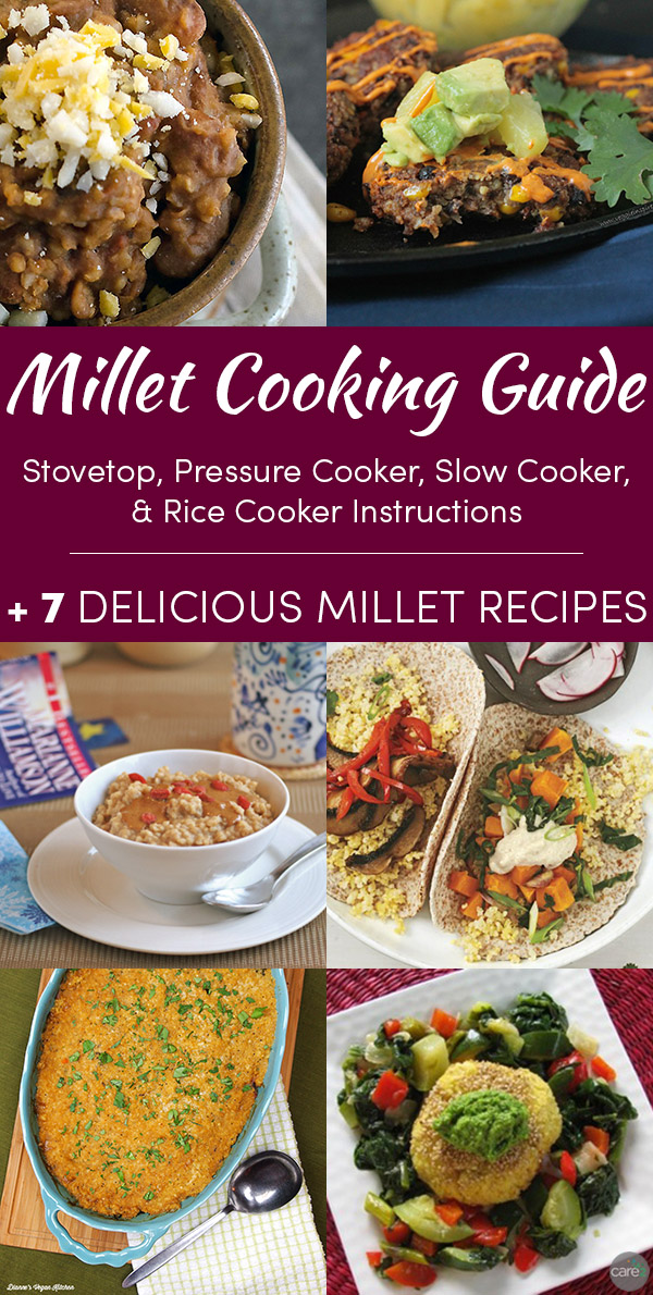 Millet is a delicious, versatile, gluten free grain with a host of health benefits. Learn how to cook millet, and get some tasty millet recipes.