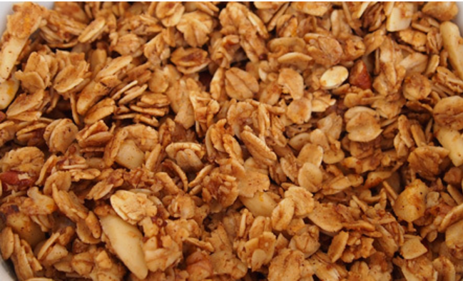 Orange Nutty Granola