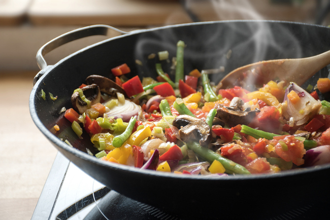 Vegetable Stir Fry is a Perfect Camping Meal