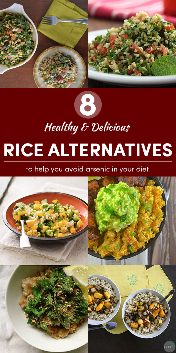 Next time you're making a soup, salad, stir fry, or other dish calling for rice, try these alternatives to rice!