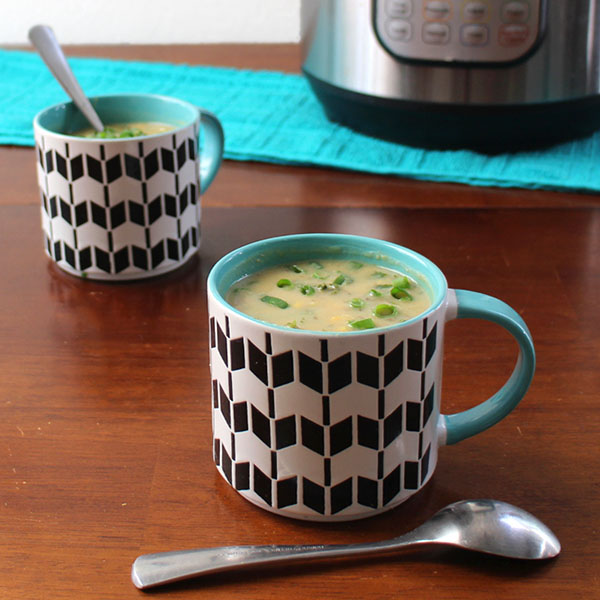 Creamy Instant Pot Potato Soup