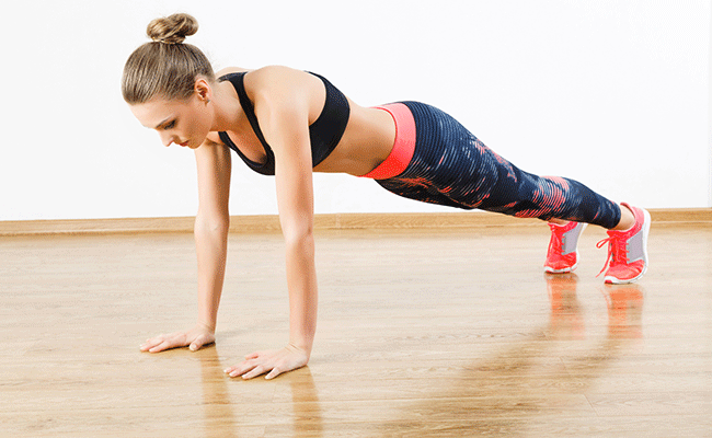 Just 3 push ups a day can help you form a great weight loss habit!