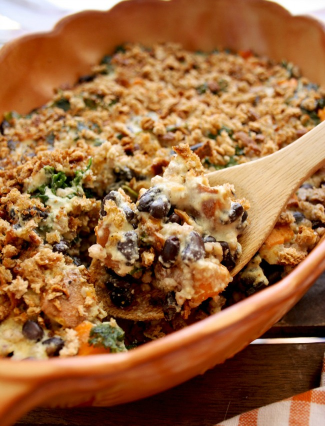 Sweet Potato Casserole with Buckwheat