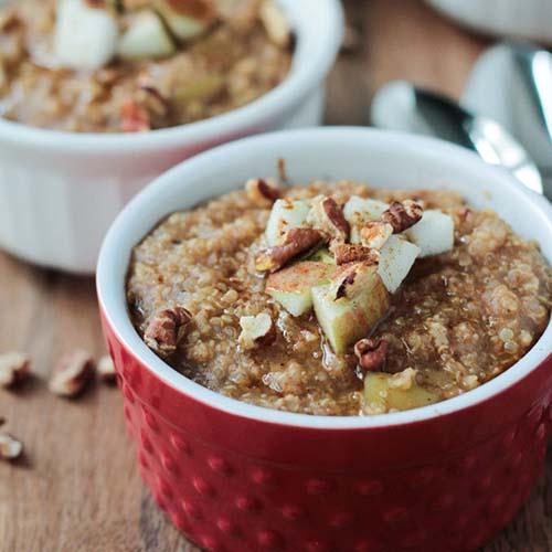 Apple Pie Mixed Grain Breakfast Cereal from Veggie Inspired