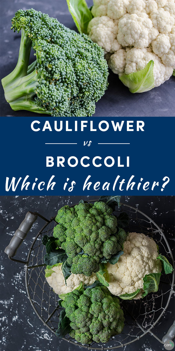 a breakdown of cauliflower vs. broccoli from a nutritional perspective.