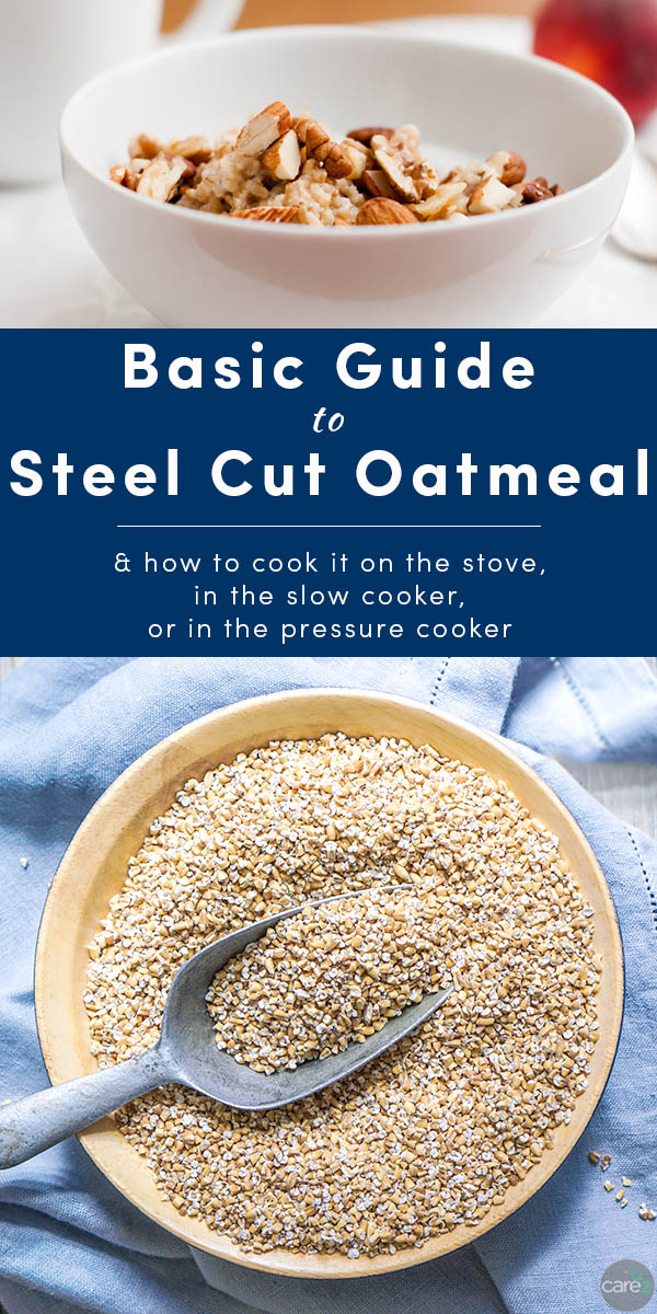 Steel cut oats are getting a lot of attention for their health benefits, but what exactly are they? Here's everything you need to know about this healthy whole grain, plus how to cook steel cut oats.