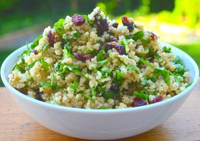 quinoa-spinach-cranberry-salad-a-virtual-vegan