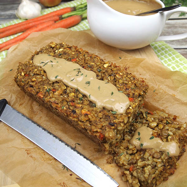 Lentil Loaf from Dianne's Vegan Kitchen