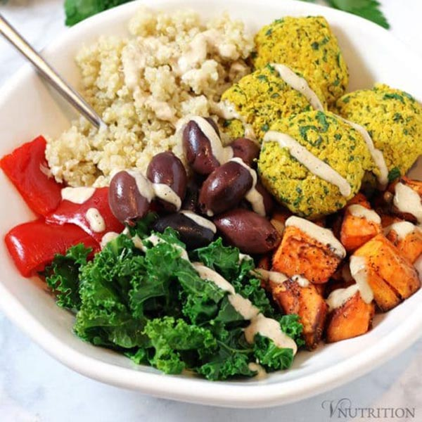 Mediterranean Bowl from V Nutrition