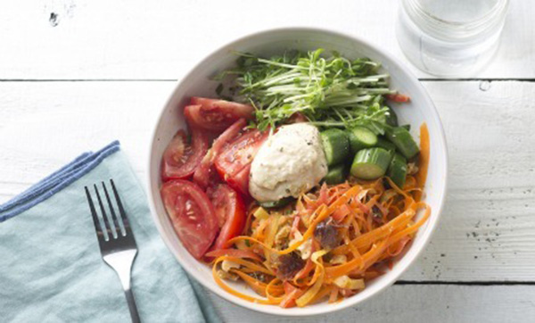 Tahini and Vegetable Buddha Bowl
