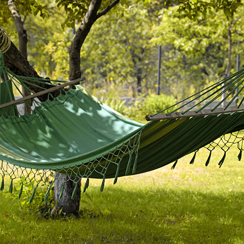 It can feel as much as 10-15 degrees cooler in the shade, so get out of the sun and hide under a tree or awning when you can!