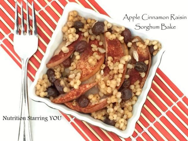 Apple-Cinnamon-Sorghum-Bake